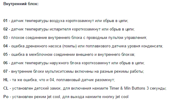 Коды ошибок кондиционеров lg ch установка и продажа кондиционеров в белгороде