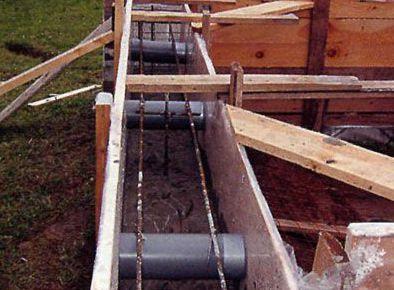 Вентиляция фундамента и системы канализации частного дома: фото, схемы