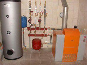 Схемы и стоимость газового отопления частного дома газовыми баллонами