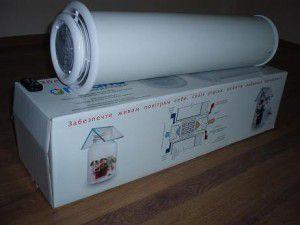 Пластиковый элемент вентиляции