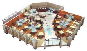 Вентиляция помещения ресторана и кафе