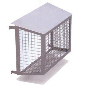 Антивандальные защитные решетки для кондиционеров и их цена