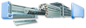 Чистка составляющих кондиционера: радиатора, фильтра, дренажа, внутреннего блока