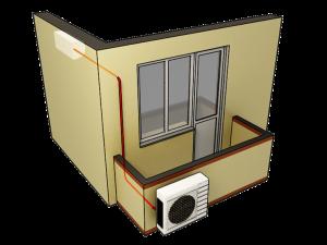 Какой кондиционер можно установить на балконе