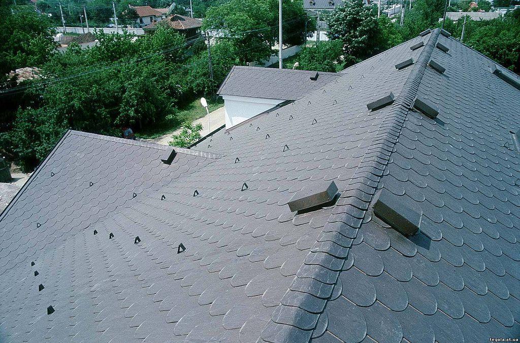 подшив крыши схема