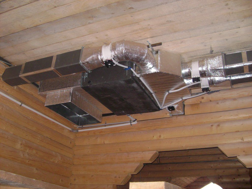 Вытяжная вентиляция в каркасном доме своими руками 53