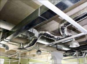 Оцинкованные вентиляционные трубы