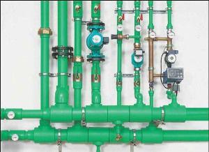 ПП трубы в системе отопления