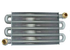 Теплообменник из медной трубы с припаянными пластинами — важнейший элемент современных отопительных котлов