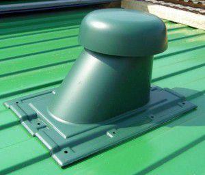 вентиляционный выход с колпаком