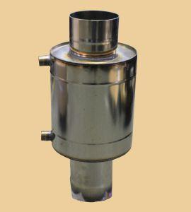 Смонтированный на дымоход теплообменник использует вылетающую в трубу тепловую энергию