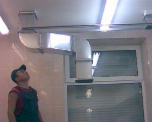 первый этап проверки вентиляции – осмотр