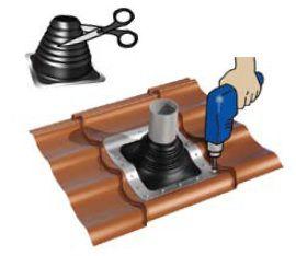 установка вентиляционного выхода – дело не сложное