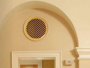 Вентиляционная решетка может быть украшением