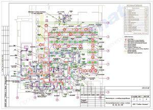 так выглядит проект системы вентиляции ресторана