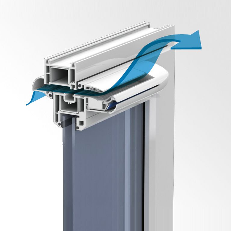Как сделать вентиляцию для пластиковых окон: виды 6