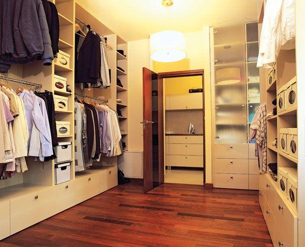 Как сделать гардеробную из комнаты своими руками