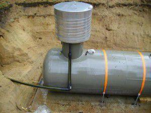 Объема газгольдера может хватить для работы отопительной системы в течение всего сезона