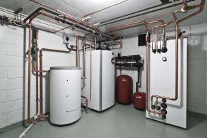 Закрытая система отопления с подключением к водопроводу