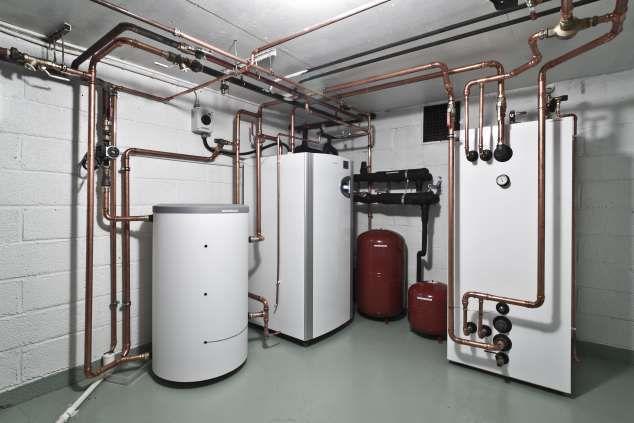 Заполнение системы отопления теплоносителем технология