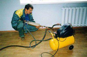 Применение насоса для очистки системы отопления