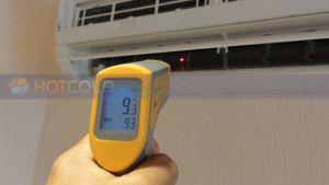 бесконтактный инфракрасный термометр для климатической техники