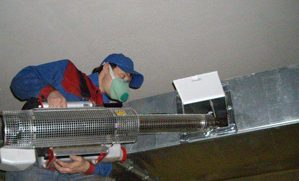 Оборудование для чистки вентиляции разновидности и правила выбора