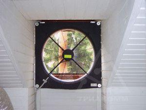 вентилятор - основной элемент вытяжной вентиляции