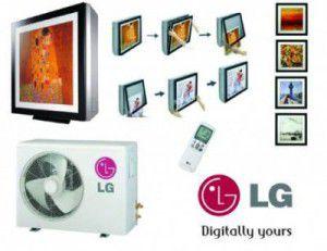 сплит-системы LG серии ART COOL