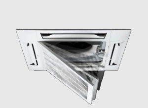 внутренний модуль кассетной сплит-системы с легко открывающейся решеткой