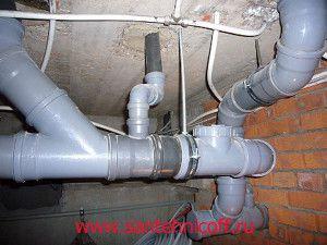 канализация жилого дома