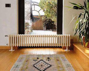 Трубчатые радиаторы в интерьере