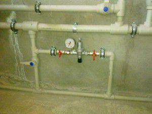 Пример узла подпитки системы отопления