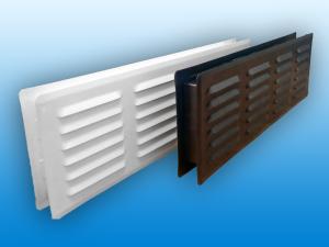 прямоугольные вентиляционные решетки
