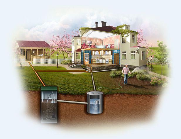 Вытяжной стояк канализации
