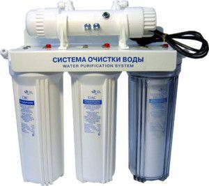 Фильтрационная система очистки воды