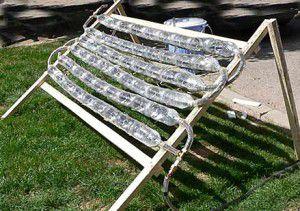 Простейший самодельный солнечный коллектор