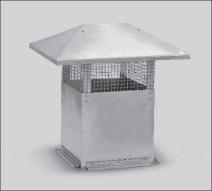 прямоугольный вентиляционный зонт