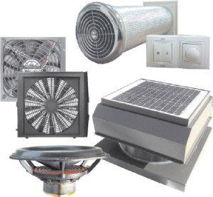приблизительный набор компонентов для домашней вентиляции