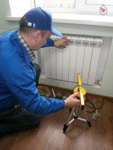 Неправильная установка радиаторов - причина некачественного отопления