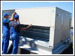 обслуживание крышного вентилятора