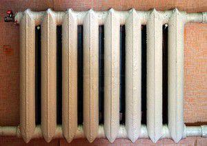 Изменение цвета радиатора из-за длительной эксплуатации