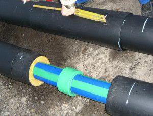 Трубы отопления с внешней защитой от морозов