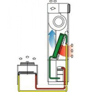 схема с выносным воздушным конденсатором