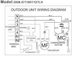 Схема подключения двигателя наружного блока кондиционера