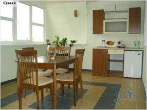 внутренний блок на кухне