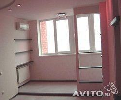 блок на лоджии, совмещенной с комнатой