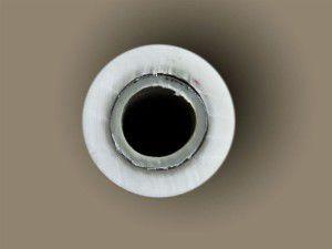 Расслоение металлопластиковой трубы