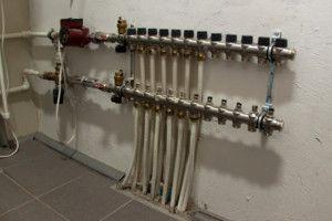 Гребенка в системе водяного теплого пола