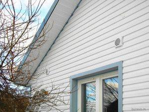 аккуратные вентиляционные решетки совсем не нарушают вид фасада